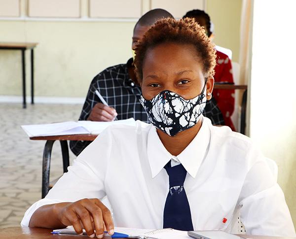 Arlete Nhantumbo a student at EPF Maputo copy