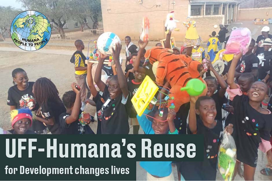 UFF-Humana's Reuse  for Development changes lives