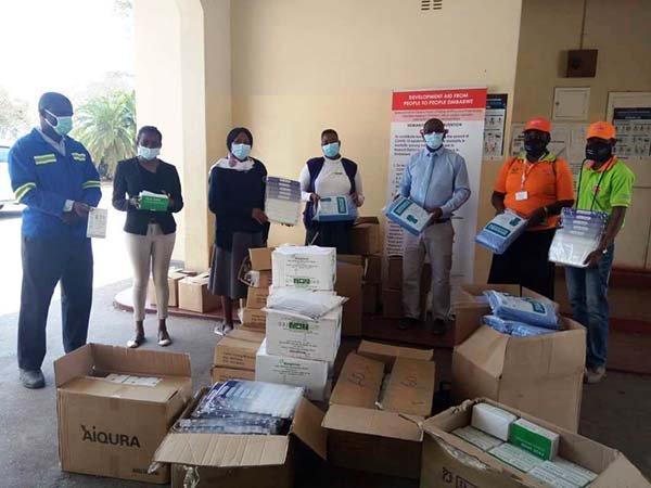 COVID19 response Zimbabwe