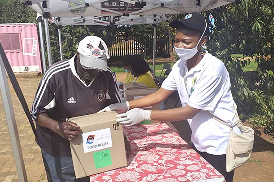 PRESS RELEASE: Food relief initiative during lockdown for needy communities