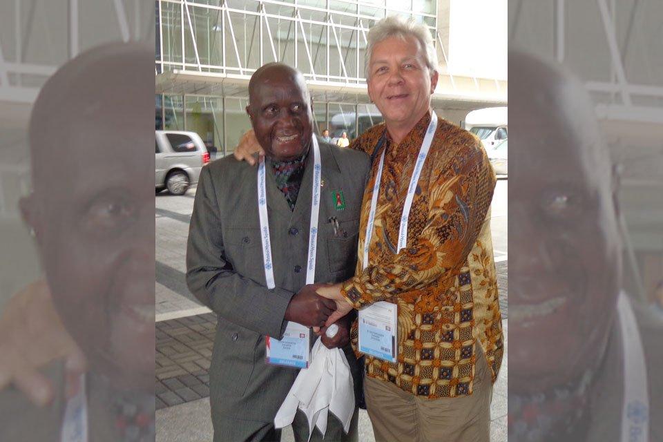 We are saddened with the death of former President Kaunda