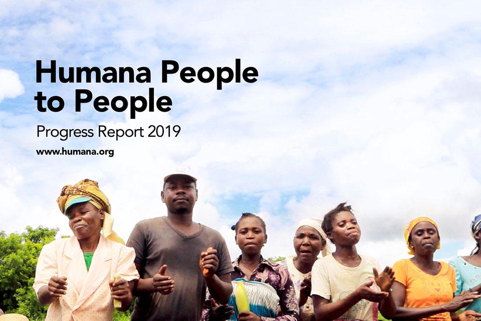 Launching the Humana People to People Progress Report 2019