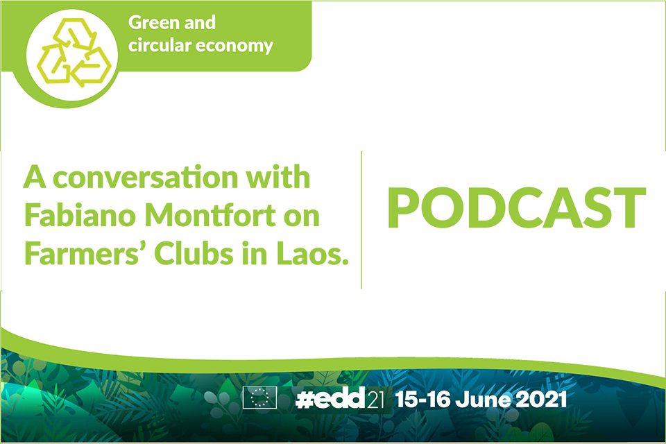 A conversation with Fabiano Montfort on Farmers' Clubs in Laos.