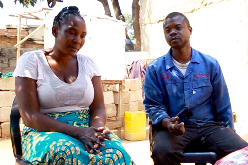 An HIV discordant couple's story of hope, unity and determination