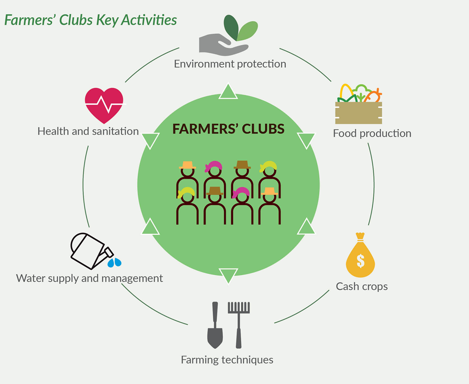 Farmers' Clubs Key Activities